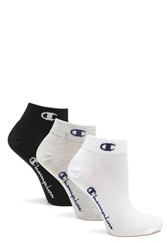 Champion Ankle Socks 3-Pack Logo Mix Bubbleroom.fi