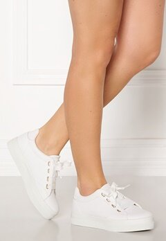 GANT Avona Leather Sneaker G290 Bright White Bubbleroom.fi