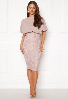 AX Paris 2 in 1 Lace Skirt Dress Mushroom Bubbleroom.fi
