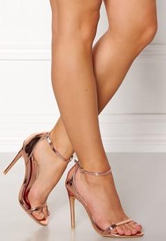 AX Paris Barely Heels Shoes Rose Gold Bubbleroom.fi