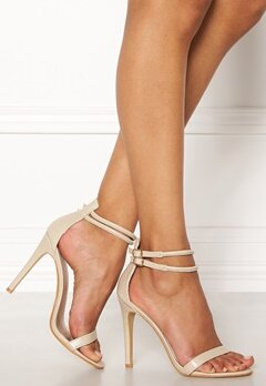 AX Paris Barely There Sandals Nude Snakeskin Bubbleroom.fi