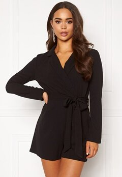 AX Paris Blazer Playsuit Black Bubbleroom.fi