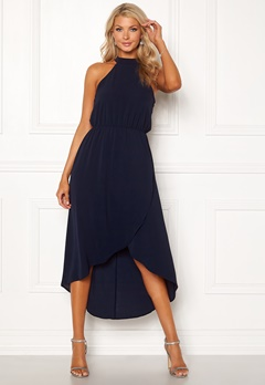 AX Paris High Low Maxi Dress Navy Bubbleroom.fi