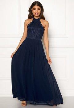 AX Paris Lace Bodice Maxi Dress Navy Bubbleroom.fi