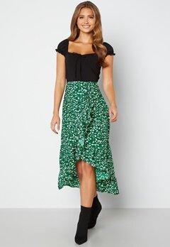 AX Paris Wrap Midi Dress Green bubbleroom.fi