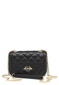 Love Moschino Bag With Chain 00B Black/Gold Bubbleroom.fi