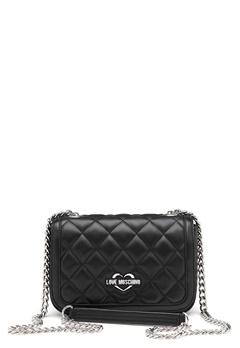 Love Moschino Bag With Chain 000 Black Bubbleroom.fi