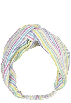 Becksöndergaard Multi Stripes Hairband 400 Yellow Bubbleroom.fi