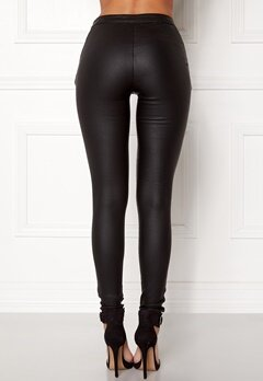 OBJECT Belle Coated Legging Black Bubbleroom.fi