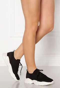 Bianco Case Laced Knit Sneakers 104 Black Bubbleroom.fi