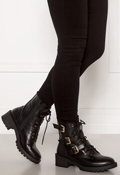 Bianco Claire Biker Boot 100 Black Bubbleroom.fi