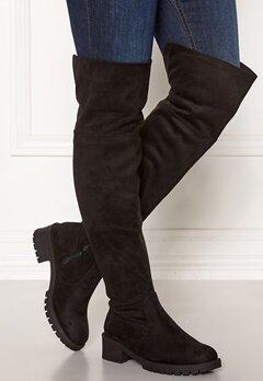 Bianco Claire Overknee Boots 101 Black Bubbleroom.fi
