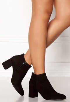 Billi Bi Black Suede Booties Black Bubbleroom.fi