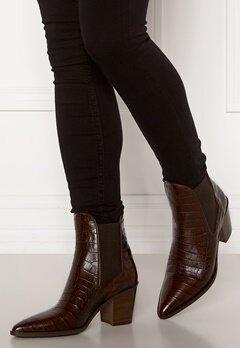 Billi Bi Leather Croco Boots Brown 8505 Luisiana Bubbleroom.fi