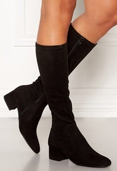 Billi Bi Long Suede Boots Black Bubbleroom.fi