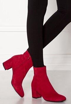 Billi Bi Red Suede Boots Red Bubbleroom.fi