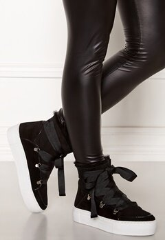 Billi Bi Suede Boots Black/White Bubbleroom.fi