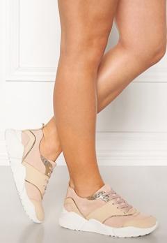 Billi Bi Suede Sneakers Beige/Rose Bubbleroom.fi