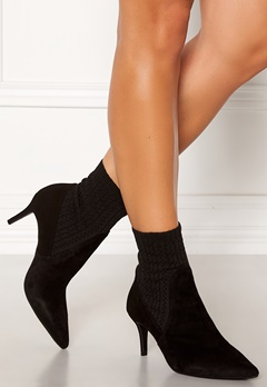 Billi Bi Suede Stretch Boots Black Bubbleroom.fi