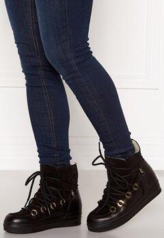 Billi Bi Wedge Boots Black/Gold Bubbleroom.fi
