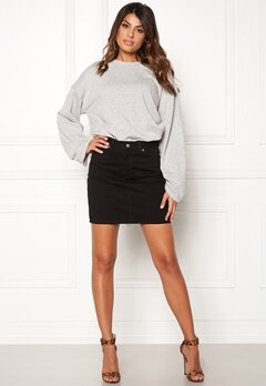 Dr. Denim Bix Denim Skirt Black Bubbleroom.fi