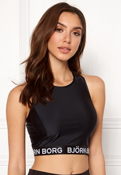 Björn Borg Cropped Tank Clary Black Beauty Bubbleroom.fi