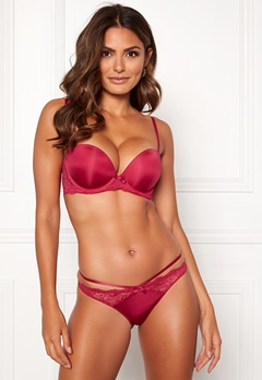 Dorina Blair Balcony Super Push Bra E75-Red Melange Bubbleroom.fi