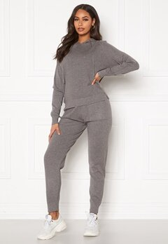 Blue Vanilla Lounge Jumper Jogger Set Grey Bubbleroom.fi