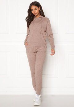 Blue Vanilla Lounge Jumper Jogger Set Taupe Bubbleroom.fi
