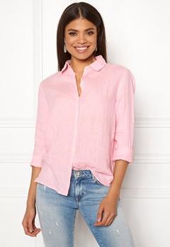 Boomerang Lina Linen Shirt Middway Pink Bubbleroom.fi