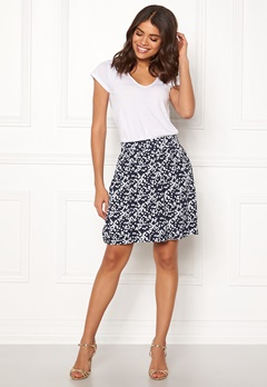 Boomerang Milla Printed Skirt Blue Nights Bubbleroom.fi