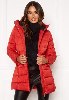 Boomerang Siri Down Jacket Real Red Bubbleroom.fi