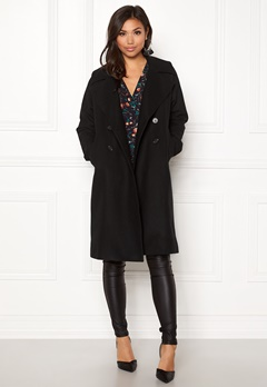 Boomerang Spell Wool Coat Black Bubbleroom.fi