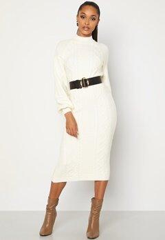 BUBBLEROOM Aisha knitted dress White bubbleroom.fi