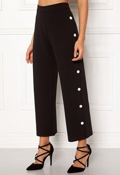 BUBBLEROOM Alexa button trousers Black / White Bubbleroom.fi