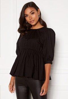 BUBBLEROOM Alyssa blouse Black Bubbleroom.fi