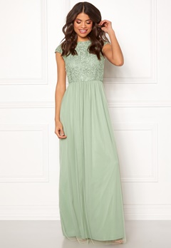 BUBBLEROOM Ariella prom dress Light green Bubbleroom.fi
