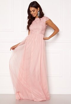 BUBBLEROOM Ariella prom dress Light pink Bubbleroom.fi
