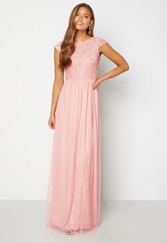 BUBBLEROOM Ariella prom dress Light pink Bubbleroom.fi