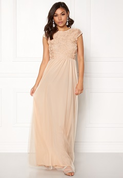 BUBBLEROOM Ariella prom dress Champagne Bubbleroom.fi