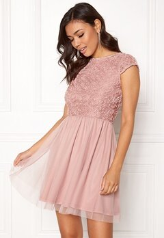 BUBBLEROOM Ayla Dress Dusty pink Bubbleroom.fi
