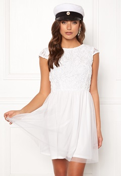 BUBBLEROOM Ayla dress White Bubbleroom.fi