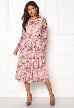 BUBBLEROOM Bella mesh dress Pink / Floral Bubbleroom.fi