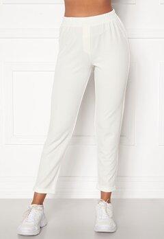 BUBBLEROOM Bonita soft suit pant White Bubbleroom.fi