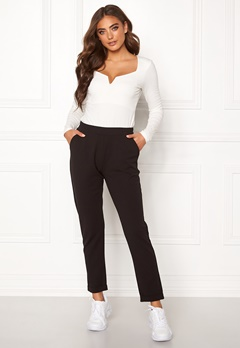 BUBBLEROOM Bonita soft suit pant Black Bubbleroom.fi