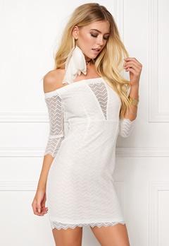 BUBBLEROOM Brandy lace dress White Bubbleroom.fi
