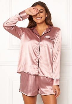 BUBBLEROOM Brenda pyjama set Dusty pink Bubbleroom.fi
