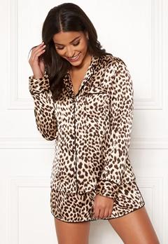 BUBBLEROOM Brenda pyjama set Leopard Bubbleroom.fi