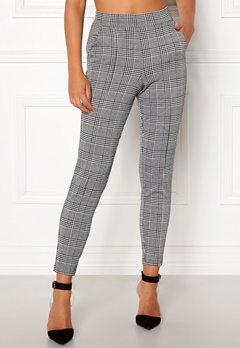 BUBBLEROOM Brienne trousers Grey / Checked Bubbleroom.fi