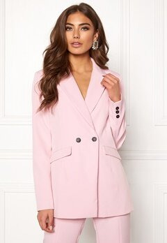 BUBBLEROOM Carolina Gynning Blazer Light pink Bubbleroom.fi